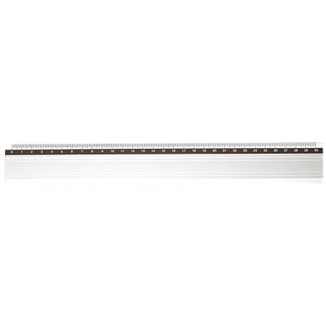 Règle en aluminium annodisé JPC de 30cm