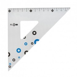 Équerre en aluminium 45° et 21cm JPC