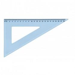 Equerre en plastique incassable JPC 60° de 22cm