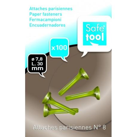Attache parisienne N°7 de 30mm - Boîte de 100