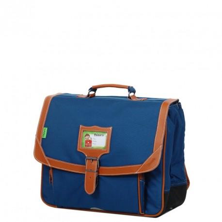 Cartable Tann's Incontournable couleur bleu 38cm