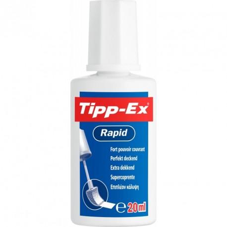 Correcteur liquide en flacon Bic Tipp-Ex - 20ml
