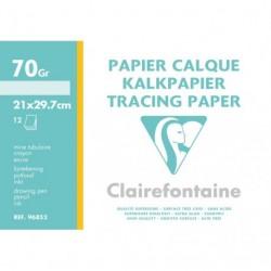 Feuilles de papier calque en feuille grand format 21x29,7 70-75gr