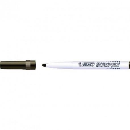 Marqueur tableau blanc Bic Velleda 1741 pointe moyenne 2 mm - Noir