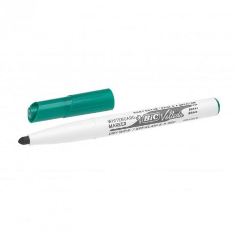 Marqueur tableau blanc Bic Velleda 1741 pointe moyenne 2 mm - Vert