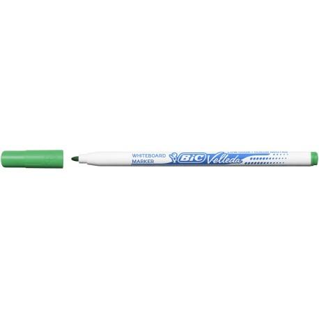 Marqueur tableau blanc Bic Velleda 1721 pointe fine 1,4 mm - Vert