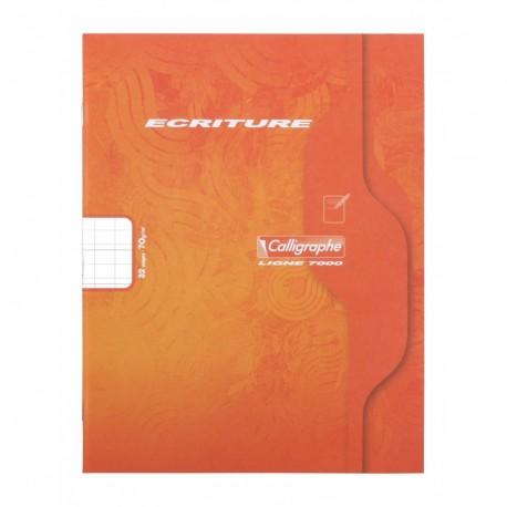 Cahier petit format 17x22 32p réglure DL 3mm IV Calligraphe