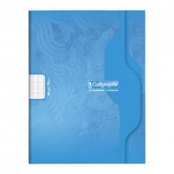 Cahier petit format 17x22 48p grands carreaux (séyès) Calligraphe