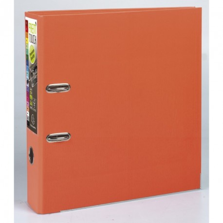 Classeur à levier format A4 maxi dos de 80mm - Orange