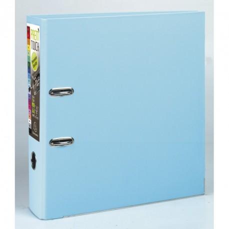 Classeur à levier format A4 maxi dos de 80mm - Bleu clair
