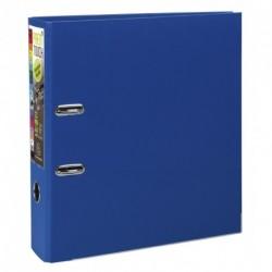 Classeur à levier format A4 maxi dos de 80mm - Bleu foncé