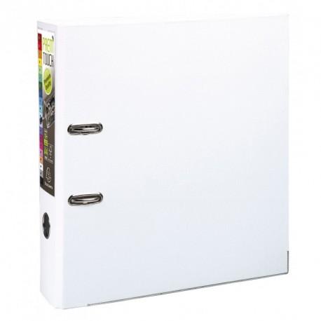 Classeur à levier format A4 maxi dos de 80mm - Blanc