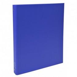 Classeur 4 anneaux format A4 dos de 40mm - Bleu