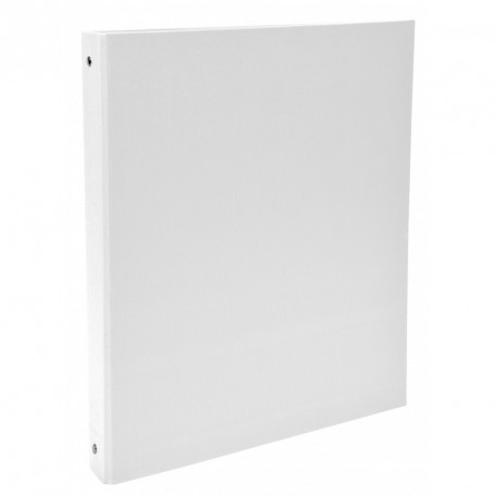 Classeur 4 anneaux format A4 dos de 40mm - Blanc