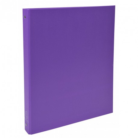 Classeur 4 anneaux format A4 dos de 40mm - Violet