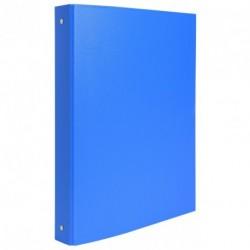 Classeur 4 anneaux format A4 dos de 40mm - Bleu clair
