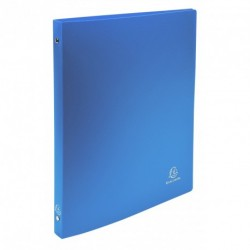 Classeur souple 4 anneaux A4 (21x29,7) dos de 15mm - Bleu clair