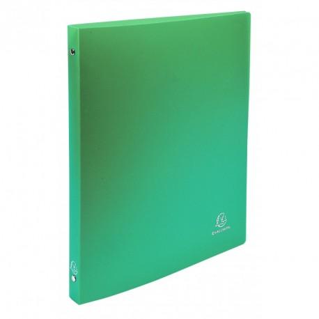 Classeur souple 4 anneaux A4 (21x29,7) dos de 15mm - Vert clair