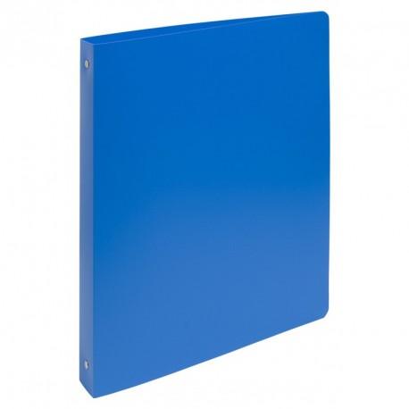Classeur souple 4 anneaux A4 maxi dos de 30mm - Bleu clair