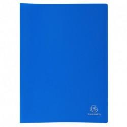 Protége-documents format A4 20 pochettes/40vues - bleu