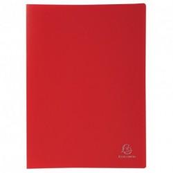 Protége-documents format A4 20 pochettes/40vues - rouge