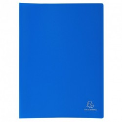 Protége-documents format A4 30 pochettes/60vues - bleu