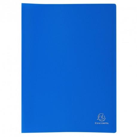 Protége-documents format A4 60 pochettes/120vues - bleu