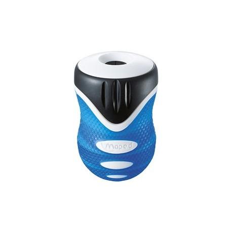 Taille-crayon Maped Clean Grip 1 usage avec réservoir - vert ou bleu