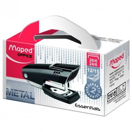Agrafeuse Essentials Metal Mini pour agrafe 24/6 ou 26/6