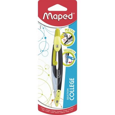Compas Maped Open en métal avec mine de 2mm