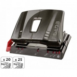 Perforateur 2 trous Maped Advanced Metal - 20/25 feuilles