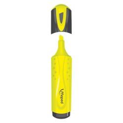 Surligneur Maped Fluo'Peps avec capuchon - jaune