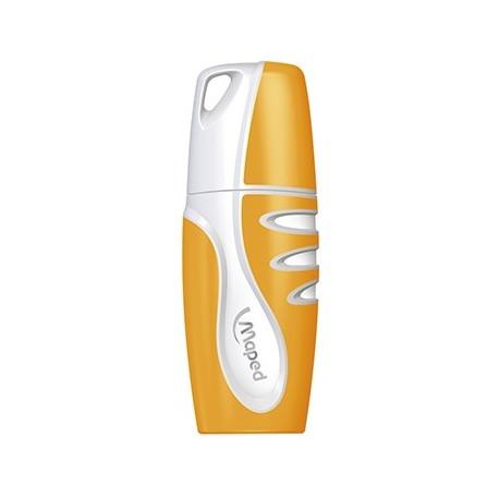 Surligneur Maped Fluo'Peps pocket format mini - couleur orange