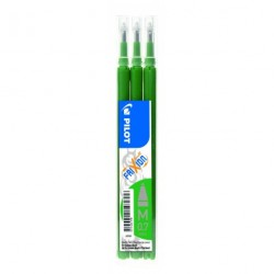 Recharge pour stylo Roller Pilot FiXion ball 0,7mm - Vert