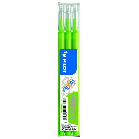 Recharge pour stylo Roller Pilot FiXion ball 0,7mm - Vert citron