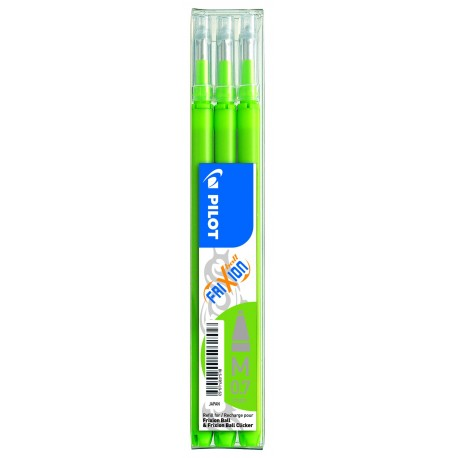 Recharge pour stylo Roller Pilot FriXion ball 0,7mm - Vert citron