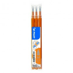 Recharge pour stylo Roller Pilot FiXion ball 0,7mm - Orange