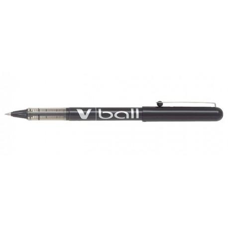 Stylo Roller Pilot V-Ball 0,5mm avec capuchon - Noir
