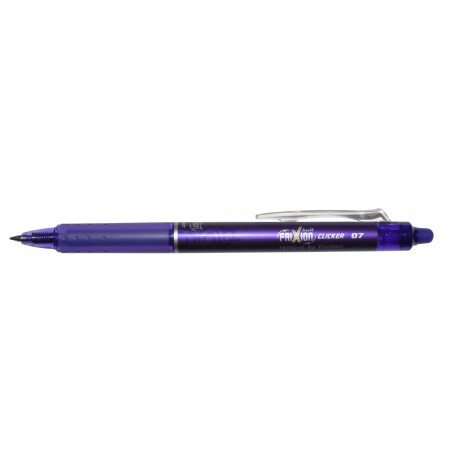 Stylo Roller Pilot FriXion ball clicker rétractable - Violet