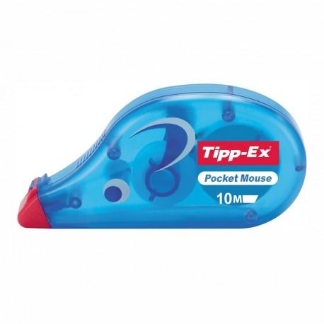 Correcteur à bande Tipp-Ex Pocket Mouse 4,2mm - 10m de correction
