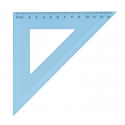 Equerre en plastique incassable JPC 45° de 21cm