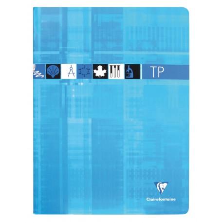 Cahier de Travaux pratiques grand format 24x32 80p séyès/uni Clairefontaine