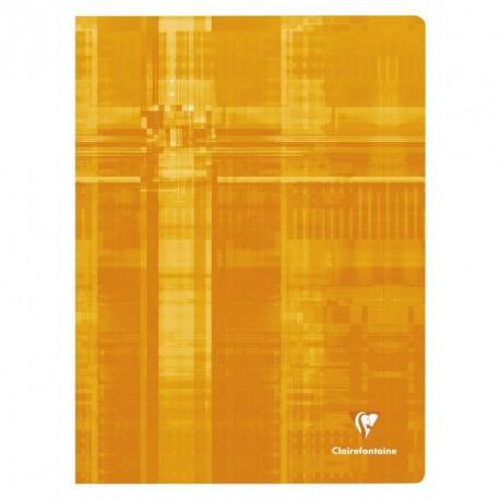 Cahier grand format 24x32 144p petit carreaux (5x5) Clairefontaine