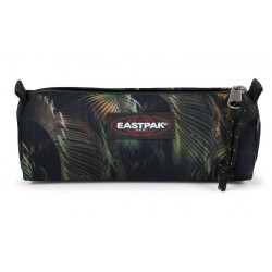 Trousse Eastpack motif jungle vert brize leaf