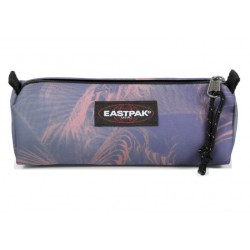 Trousse Eastpack motif jungle rose brize leaf