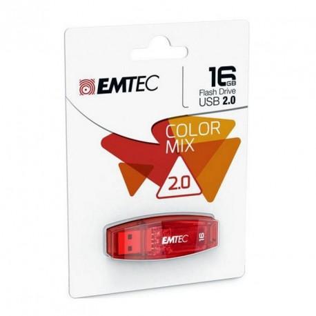 Clé USB capacité 16GO - couleurs assortis