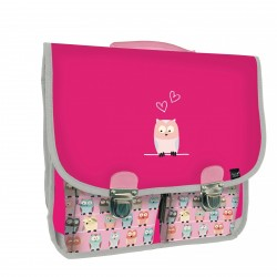 Cartable animascot Hibou 38cm