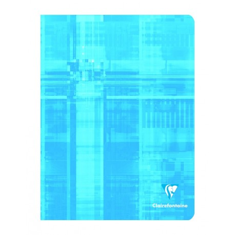 Cahier petit format 17x22 48p petits carreaux (5x5) Clairefontaine