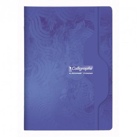 Cahier format A4 21x29,7 192p grands carreaux (séyès) Calligraphe