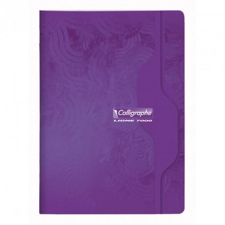 Cahier format A4 21x29,7 192p petits carreaux (5x5) Calligraphe